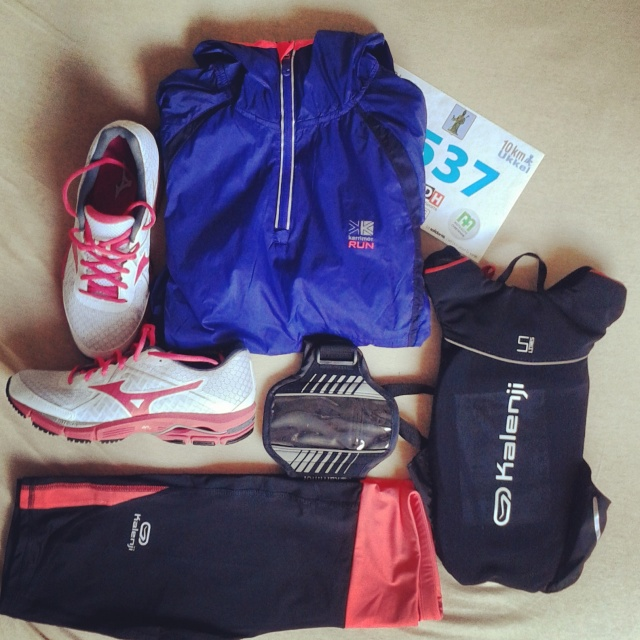 The Strongher - outfit 10km Uccle
